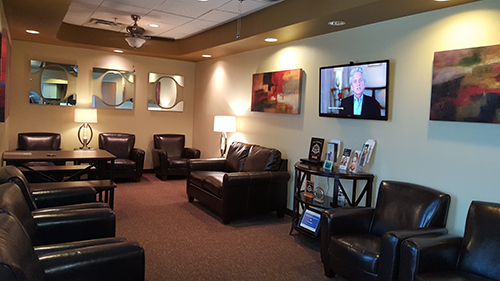 reception room - dr. allard oral surgery